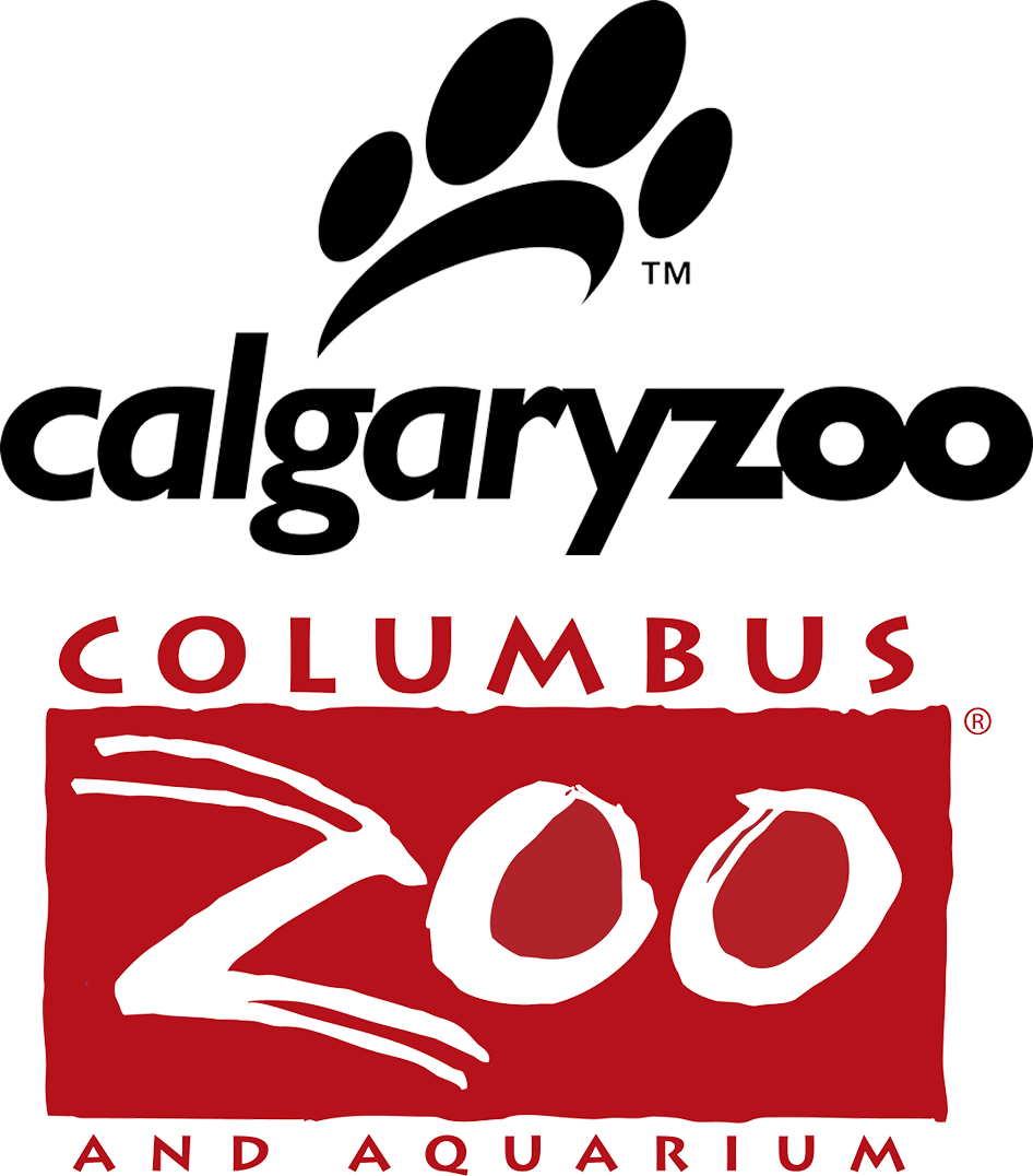Calgary Zoo & Columbus Zoo and Aquarium logo